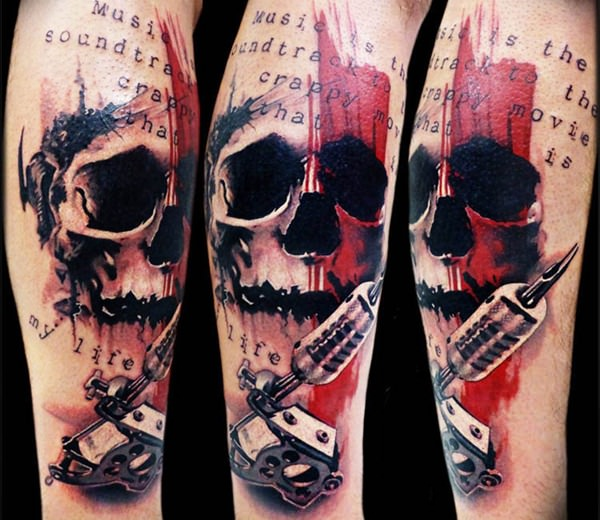 Skull Tattoos for Men and Women 69