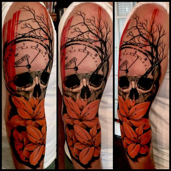 Skull Tattoos for Men and Women 79
