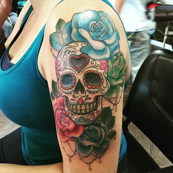 Skull Tattoos for Men and Women 8