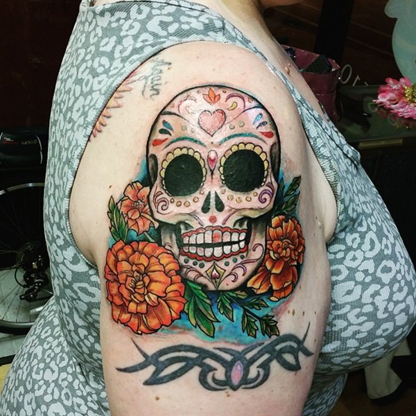 Skull Tattoos for Men and Women