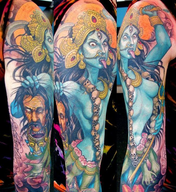 The Fiery Kali Tattoo