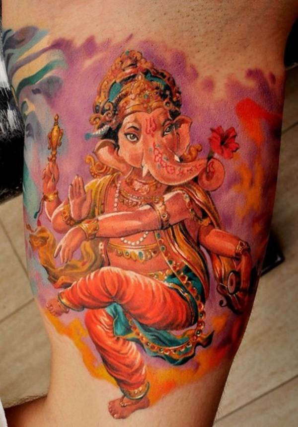 The Watercolor Ganesh