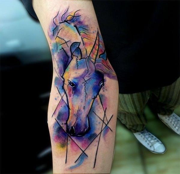 Unicorn Tattoo Designs 23