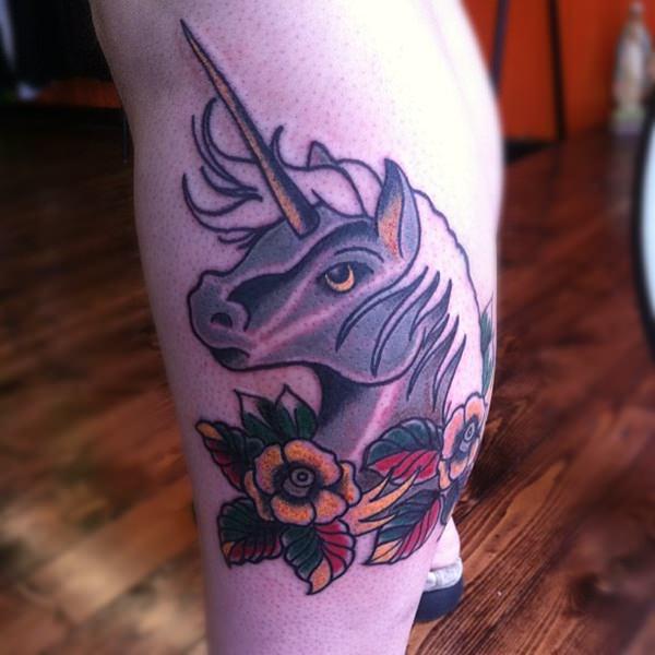 Unicorn Tattoo Designs 43