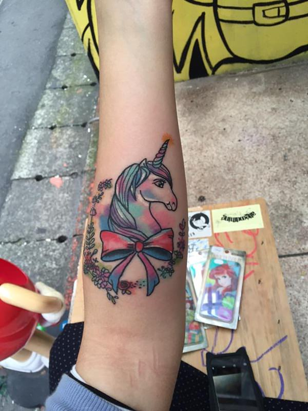 Unicorn Tattoo Designs 50