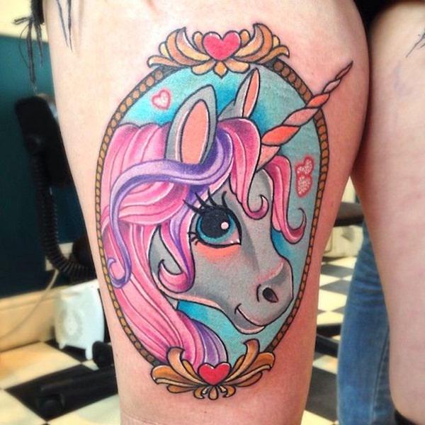 Unicorn Tattoo Designs 51