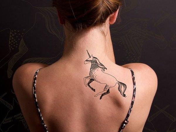 Unicorn Tattoo Designs 73