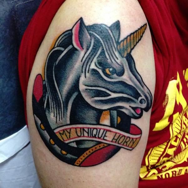 Unicorn Tattoo Designs 74