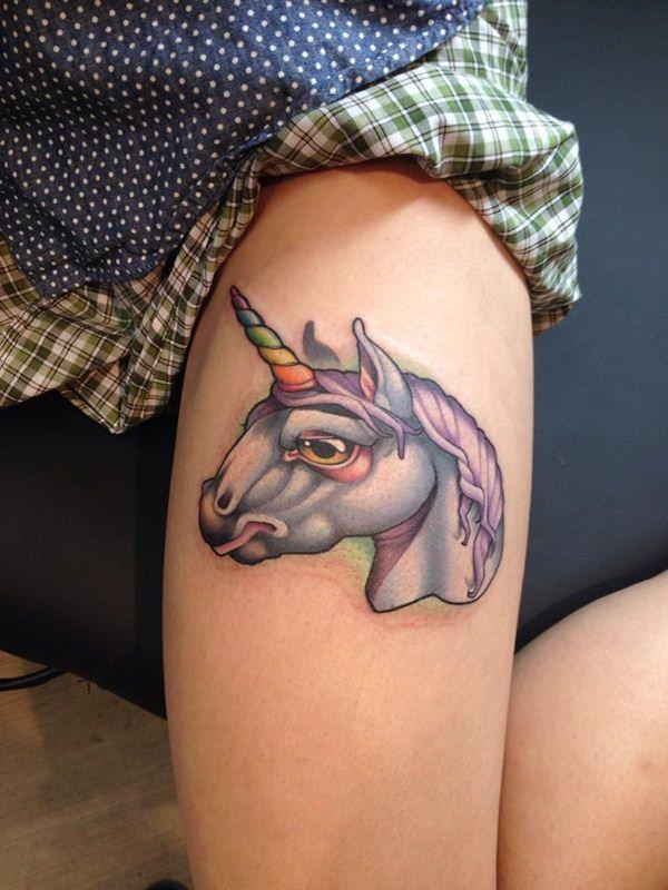 Unicorn Tattoo Designs 87
