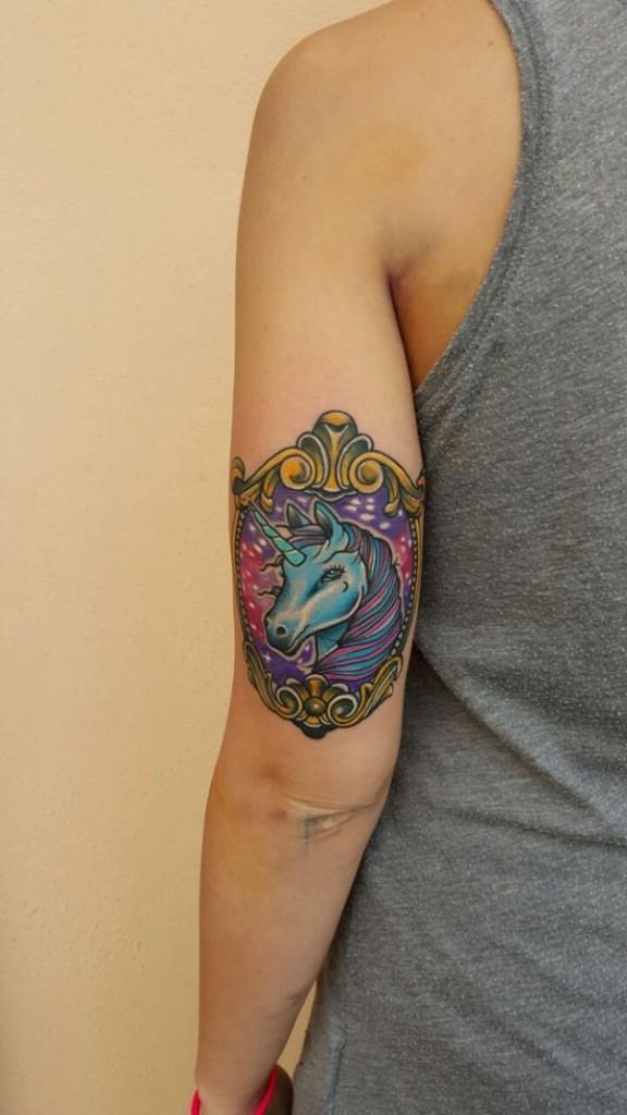 Unicorn Tattoo Designs 91