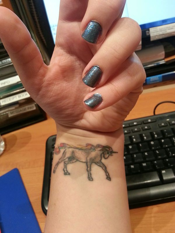 Unicorn Tattoo Designs 99
