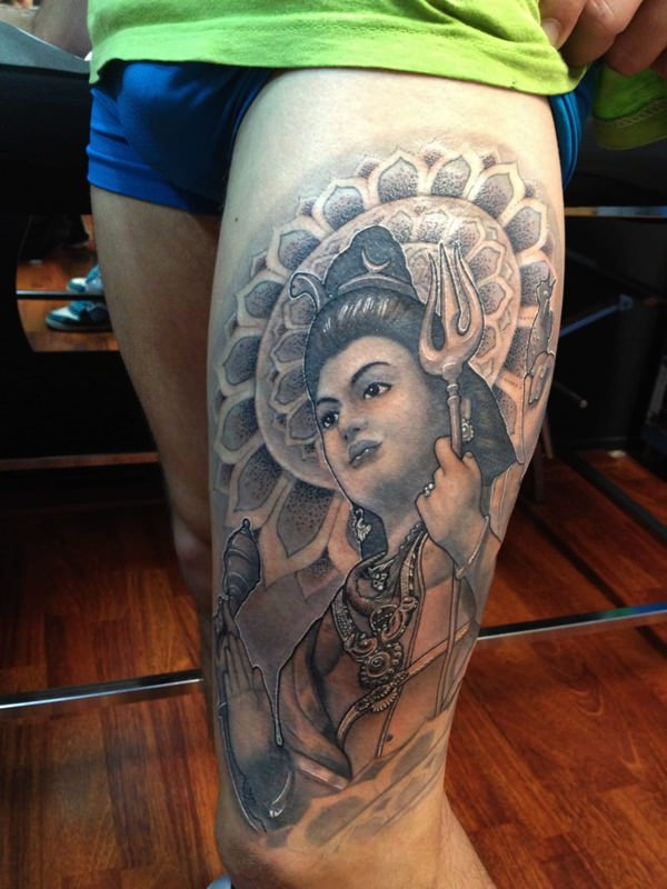 Upper Leg Shiva