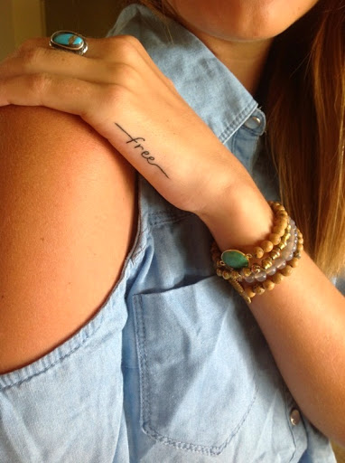 Mind Blowing Girl Tattoo Quotes 14