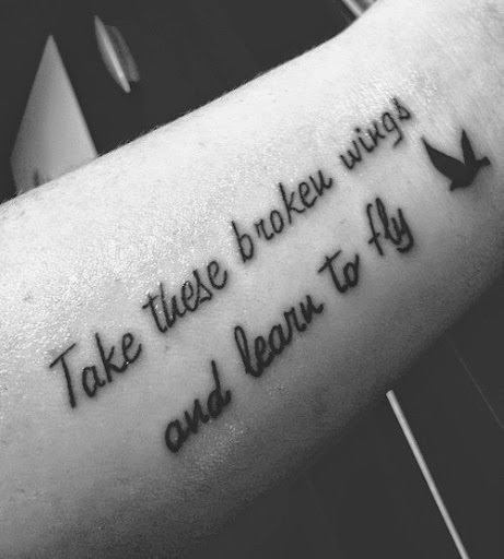 Mind Blowing Girl Tattoo Quotes 18