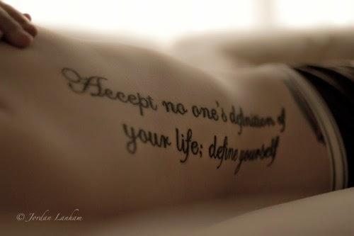 Mind Blowing Girl Tattoo Quotes 8