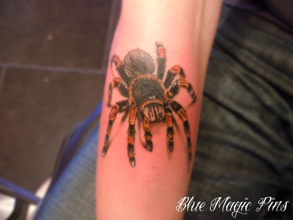 Awesome Spider Tattoo Designs 16