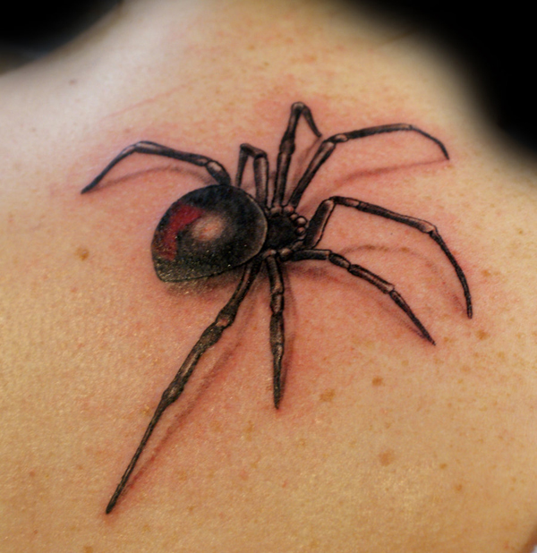 Awesome Spider Tattoo Designs 2