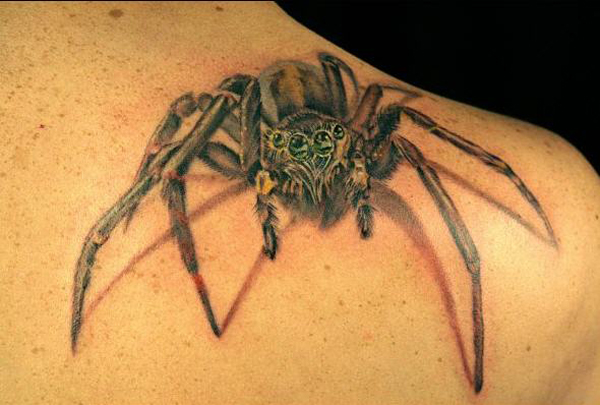 Awesome Spider Tattoo Designs 5