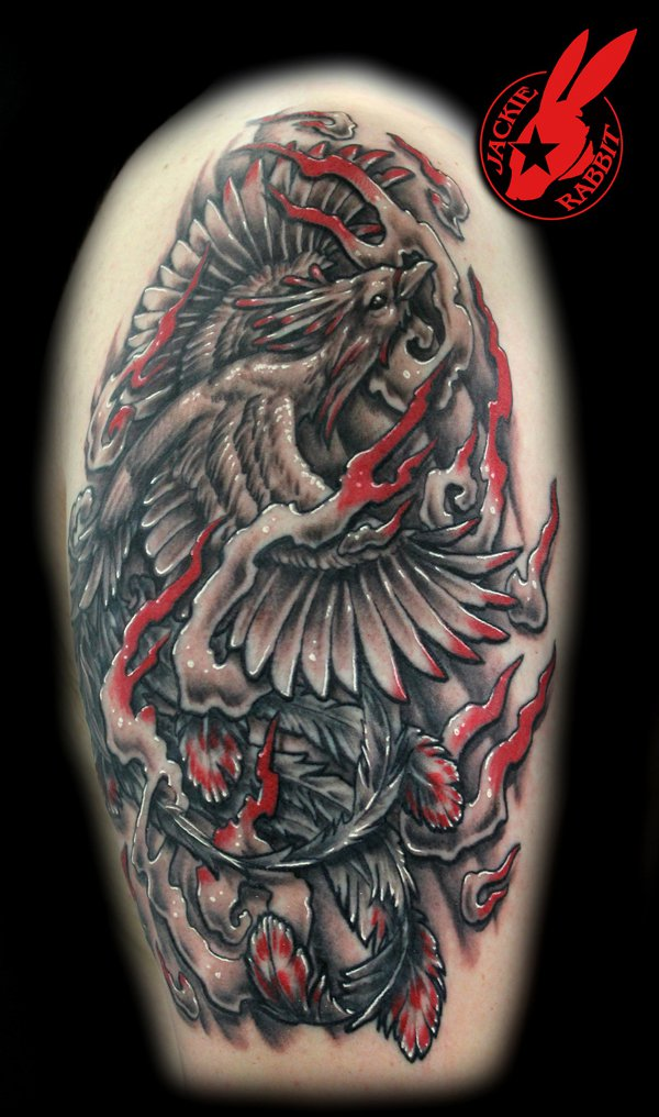 Beautiful Phoenix Tattoo Designs 15