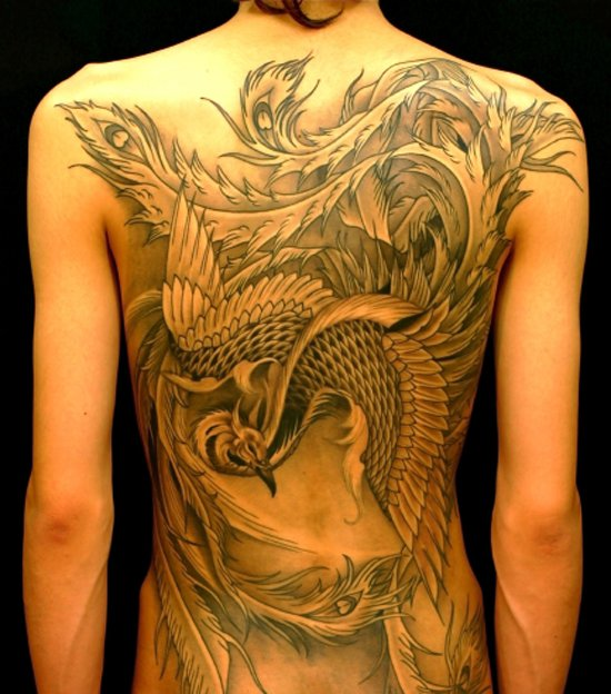 Beautiful Phoenix Tattoo Designs 43