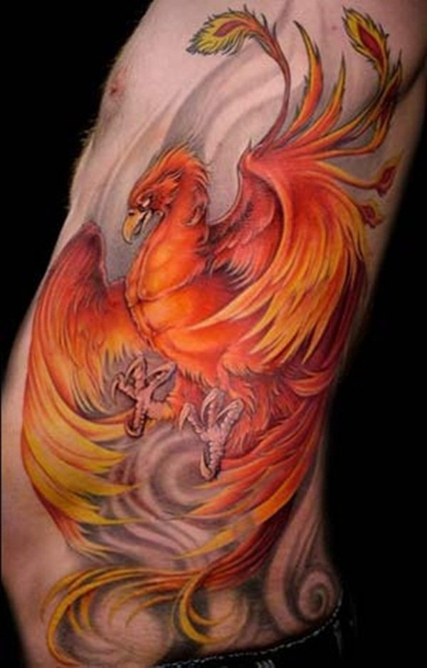 Beautiful Phoenix Tattoo Designs 9
