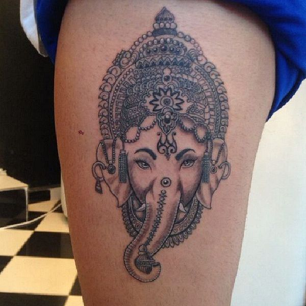 Best Elephant Tattoo Designs And Ideas 21