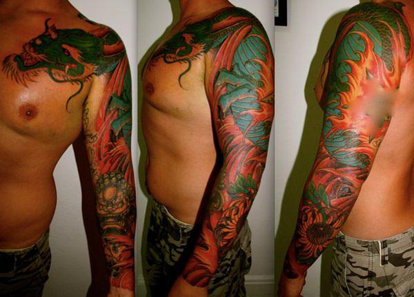 Breathtaking Foo Dog Tattoos for Inspiration 16