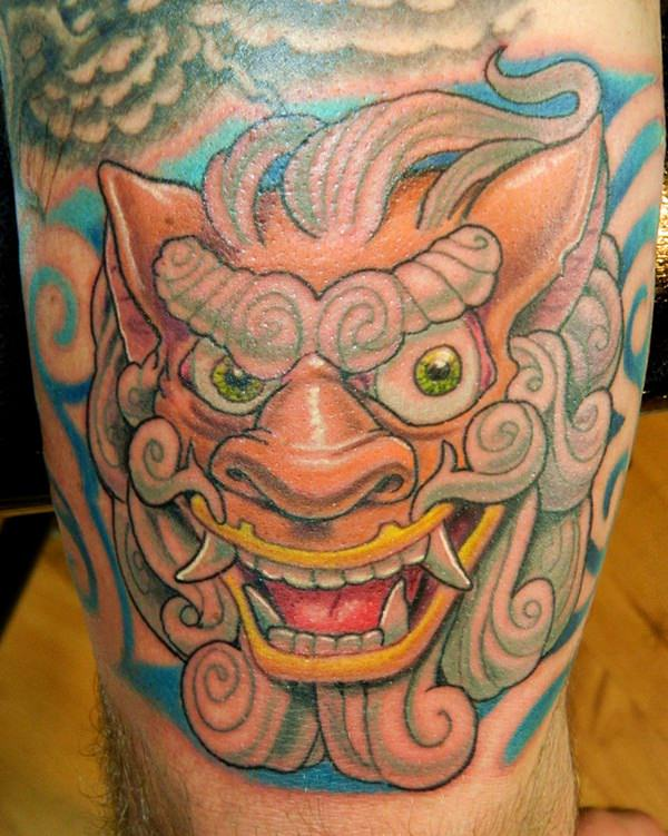 32 Breathtaking Foo Dog Tattoos for Inspiration
