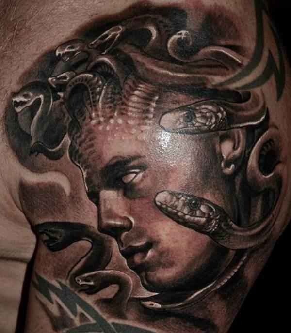Extraordinary Medusa Tattoo Designs 10
