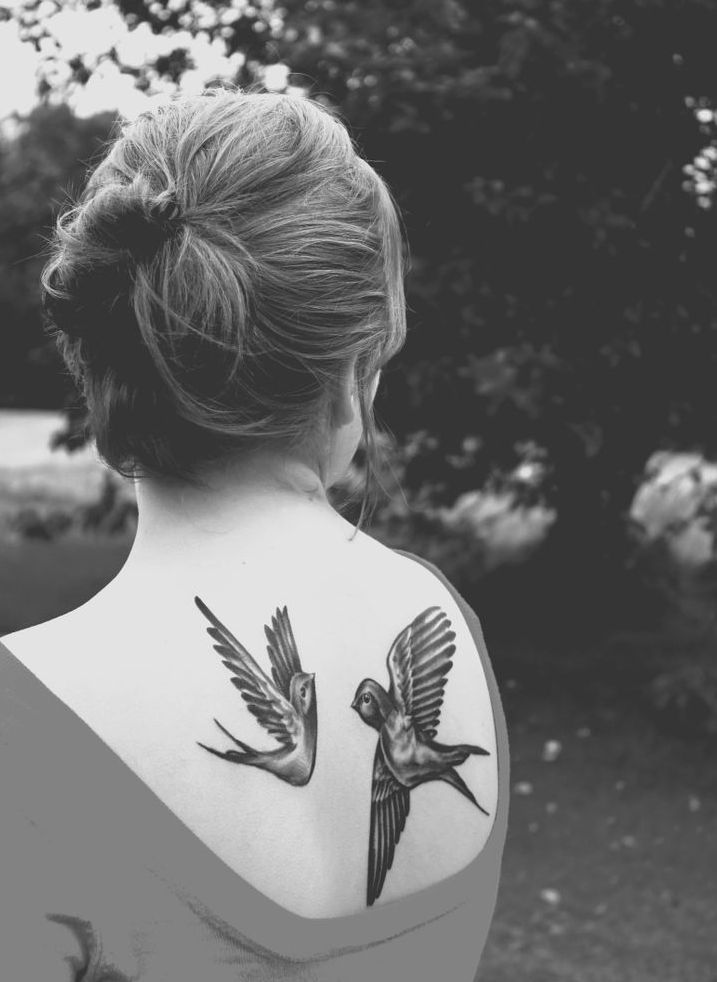 100 Creative and Fashionable Bird Tattoos Design for Men and Women