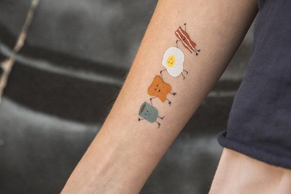 Best Food Tattoos Design and Ideas