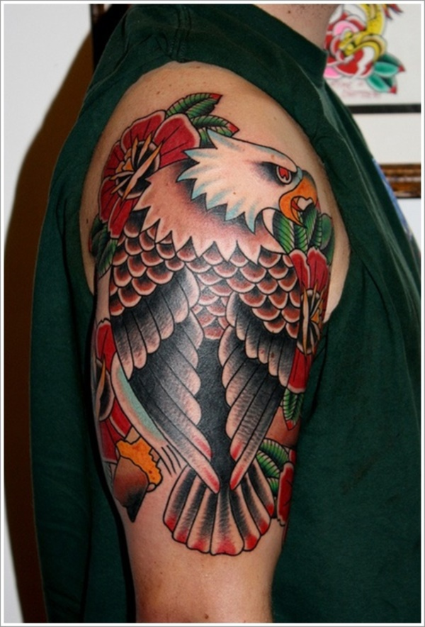 Incredible Eagle Tattoo Design and Ideas