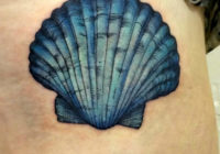 Beautiful Seashell Tattoos Designs For Men and Women