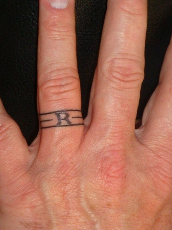 Unique Wedding Ring Finger Tattoos for Teens