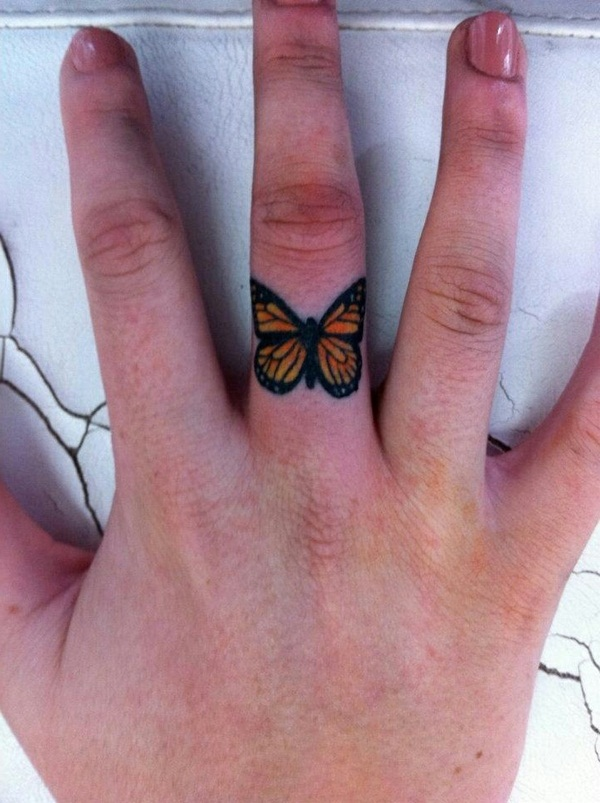 30 unique wedding ring finger tattoos for teens tattoosera for Finger tattoo ideas
