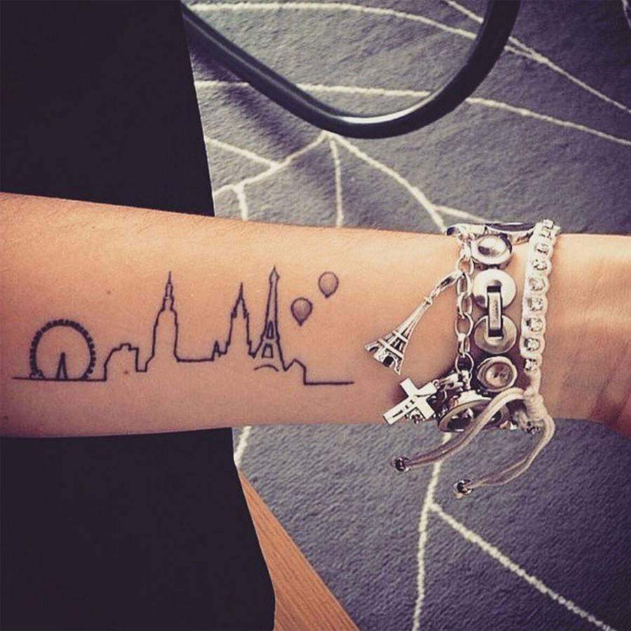 Beautiful Travel Tattoos Design and Ideas