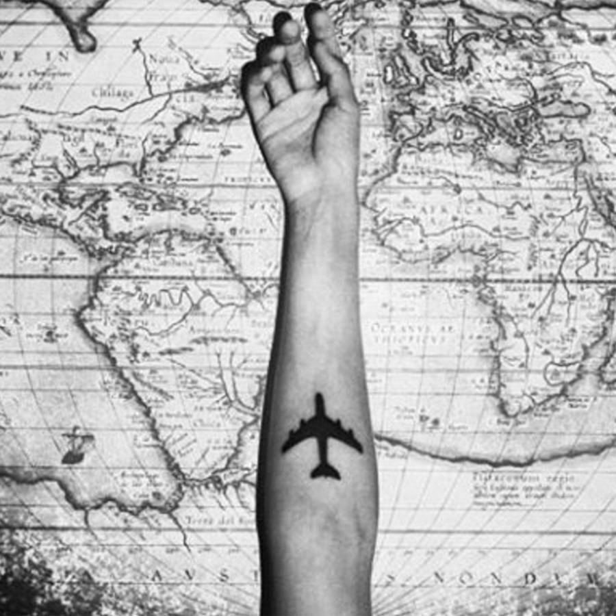 travel tattoos design and ideas