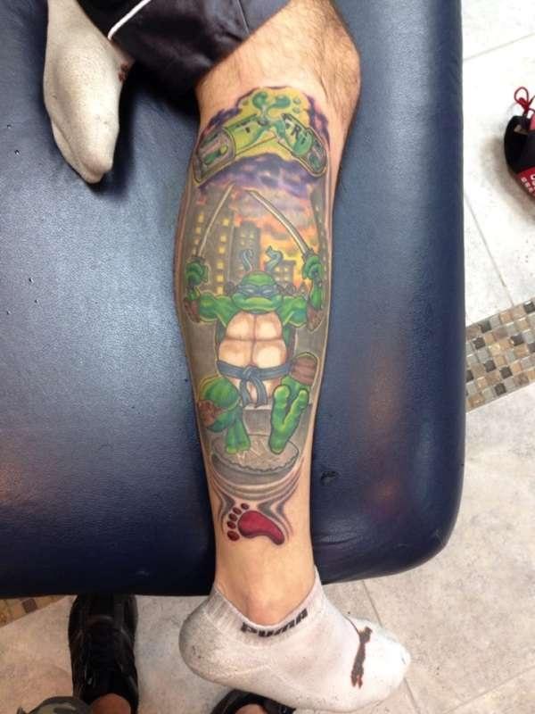 Ninja Turtle Tattoos Designs and Ideas