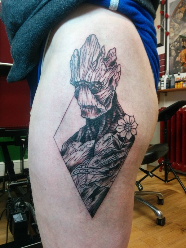 Marvel Super Hero Tattoos Designs and Ideas