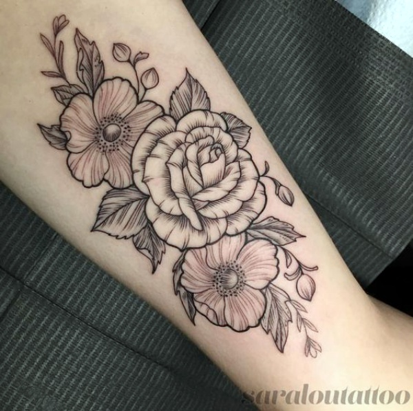 No-Ordinary Line Tattoo Designs and Ideas