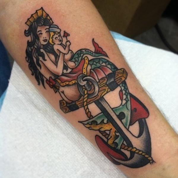 Desenhos e ideias de tatuagem de sereia para meninas