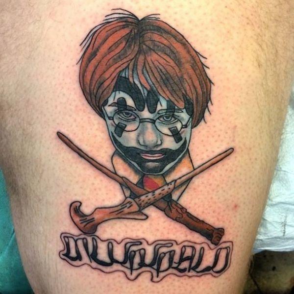 Desenhos de tatuagem de Harry Potter